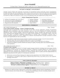 sample resume for project manager  template sample resume for project manager