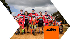 2018 KTM <b>MOTOCROSS RACING TEAM</b> | KTM - YouTube