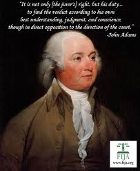 John Adams' Notes on the Right of Jury Nullification via Relatably.com