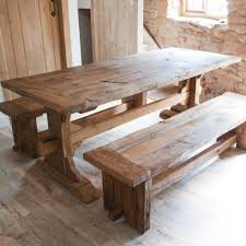 Rustic Wood Dining Room Table Dining Room Rustic Wood Dining Table Emmerson Dining Table