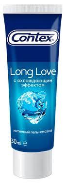 <b>Гель</b>-<b>смазка Contex Long</b> Love с охлаждающим эффектом ...