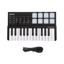 <b>Worlde Panda High Quality</b> 25 Keys USB Keyboard and Drum Pad ...