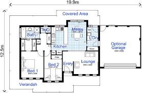 House Plans   Bruce Mactier Building Designers SheppartonHouse plan preview