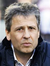 Swiss coach Lucien Favre Berlin - Swiss coach Lucien Favre was sacked by Hertha Berlin Monday after attending crisis talks at the Bundesliga basement club. - Lucien%2520Favre