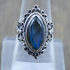 Labradorite Gemstone New <b>Fashion Jewelry 925</b> Sterling Silver ...