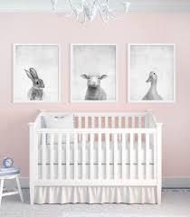 print bedroom decor animal prints set of three baby animal prints nursery art prints black and white art