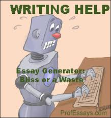 Essay Generator   Essay Writing Help  Format  Topics  Examples ProfEssays com