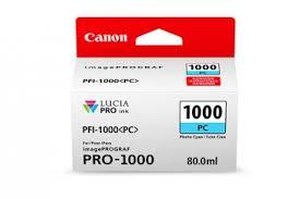 <b>Canon PFI-1000PC Photo Cyan</b> Ink Cartridge - 80ml | Freestyle ...
