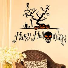 halloween gallery wall decor hallowen walljpg new halloween home decor wall stickers diy removable vinyl wall sticker for living room bedroom sitting