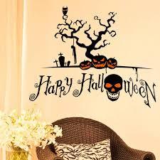 halloween gallery wall decor hallowen walljpg new halloween home decor wall stickers diy removable vinyl wall sticker for living room bedroom sitting