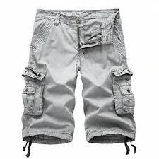 MOTOR <b>CASUAL Mens Casual</b> Twill Cotton <b>Loose Fit</b> Multi Pocket ...