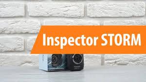 Распаковка видеорегистратора <b>Inspector STORM</b> / Unboxing ...