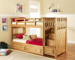 image of toddler bunk beds with stairs children bunk beds safety