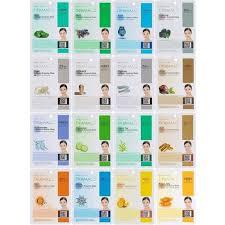 DERMAL <b>Collagen Essence</b> Full <b>Face</b> Facial <b>Mask</b> Sheet, 16 ...