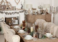 the perfect christmas set up for me farmhouse table glamorous upholstered chairs and rustic barker stonehouse furniture