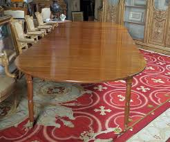 elegant square black mahogany dining table: a fine amp rare louis xvi directoire mahogany dining table by claude messier