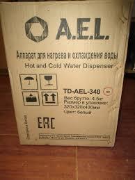 Обзор от покупателя на <b>Кулер для воды</b> TD-<b>AEL</b>-340 v.2 ...