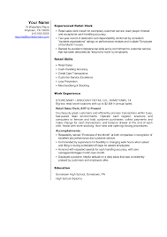 example resume retail  socialsci cosample resume resume retail template objective exles   example resume