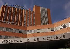 Resultado de imagen de fachada hospital 12 octubre madrid
