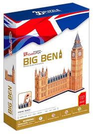 Купить 3D-пазл <b>CubicFun Биг Бен</b> (MC087h), 117 дет. по низкой ...