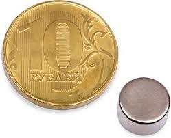 <b>Неодимовый магнит диск</b> 8х4 мм, 100 шт, <b>Forceberg</b> | купить в ...