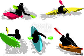 """Résultat de recherche d'images pour """"dessin kayakiste"""""""