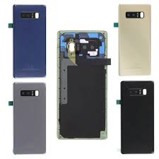 Besufy Back Glass <b>Housing Cover Battery Door</b> with Camera Lens ...