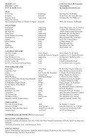resume karen brelsford 12pt website 2014 detailed acting resume full page