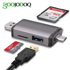 Rocketek <b>USB 3.0</b> Multi <b>Memory Card</b> Reader OTG Type c Android ...