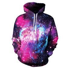 <b>PLstar Cosmos New fashion</b> Hoodies Casual Sweatshirts Galaxy ...