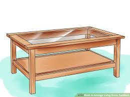 living room desks furniture: image titled arrange living room furniture step