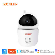 Dual Lens IP Camera PTZ WIFI Auto Tracking Zoom <b>CCTV 1080P</b> ...