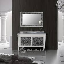 Комплект мебели для ванной <b>Atoll Валенсия 130</b> bianco купить в ...