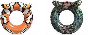 <b>Надувной круг</b> для плавания <b>BestWay Хищники</b> 91 см, от 10 лет ...