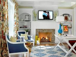 view in gallery blue accents give the home office a fresh modern look design hip blue modern home office