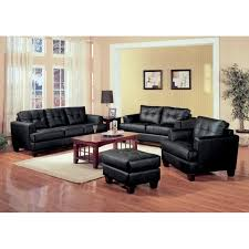 black leather sofa set black leather sofa