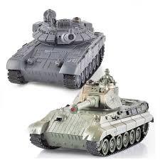 <b>Радиоуправляемый танковый бой MYX</b> T90 и Tiger King - 99820 ...