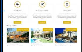 crimea joomla real estate template featured properties section of joomla real estate template