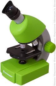 <b>Микроскоп Bresser Junior 40x-640x</b>, зеленый купить по цене 4 ...