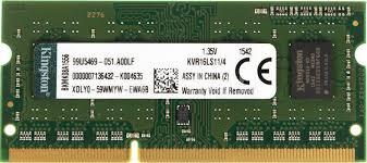 <b>Модуль памяти KINGSTON</b> VALUERAM KVR16LS11/4 <b>DDR3L</b> - 4ГБ