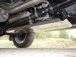 Кунги на Toyota HILUX Revo 2015- - <b>Защита бака</b> (<b>алюминий</b>) <b>4</b> мм
