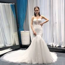 Online Get Cheap Strapless Mermaid Wedding Dress De Lace ...