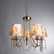 <b>Подвесная</b> люстра <b>Arte</b> Lamp Armonico A5008LM-5GO - купить в ...