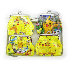 1PCS Birthday Party Coin Purse <b>Kids Favors</b> Pokemon/Minnie ...