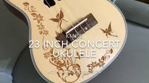 Awesome Ukulele for $50!! Kmise <b>Concert Ukulele</b> - YouTube