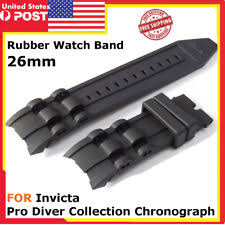 Black <b>Silicone</b> Diver Wristwatch Bands for sale   eBay