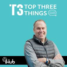 Top Three Things with Dr. James Oldroyd