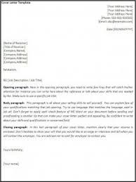 cover letter template download a cover letter template