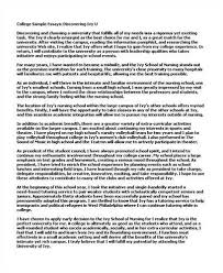 college personal essay samples   essay bad college essay examples