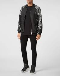 <b>Nylon</b> Jacket Foulard texture | Philipp Plein